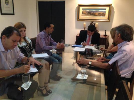 Reunião com o Governador Wellington Dias