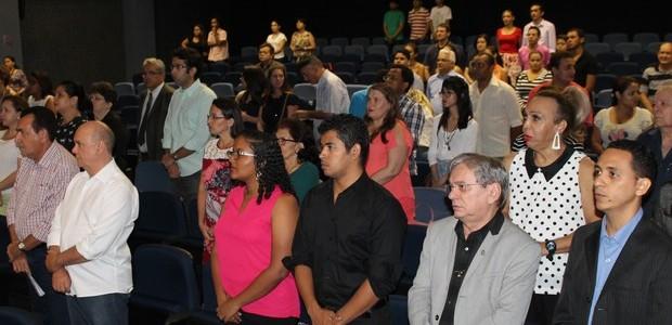 Público prestigiou ao lançamento da 13 ª edição do Salipi (Foto: Ellyo Teixeira/G1)