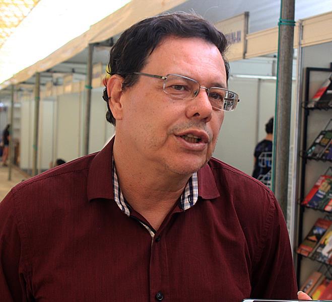 Prof. Dr. Ricardo Alaggio, Diretor da Editora da UFPI (EDUFPI)